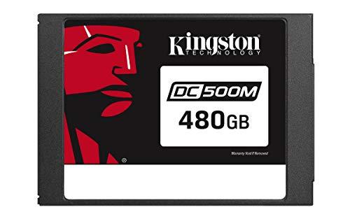 キングストン SEDC500M/480G Data Center DC500M エンタープライズ SSD 480GB 2.5inch SATA 3.0 3D TLC 256ビットAES暗号化 シーケンシャルR/W 555Mbps/520Mbps 混合型