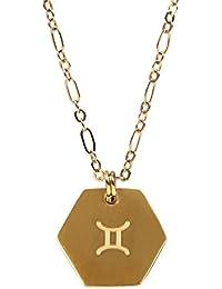 yhjx 12星座necklace-gemini