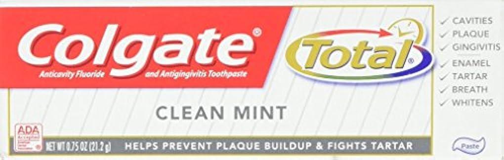 パートナー我慢する寝室を掃除するColgate 総歯磨き、トラベルサイズ、0.75オンス