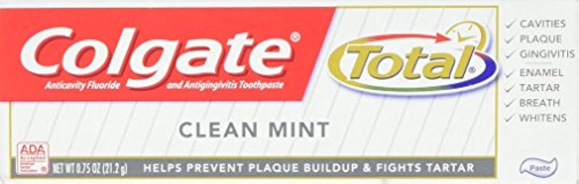 キャラバンスナッチ残高Colgate 総歯磨き、トラベルサイズ、0.75オンス
