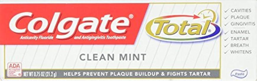 粘着性魅惑的な滅多Colgate 総歯磨き、トラベルサイズ、0.75オンス