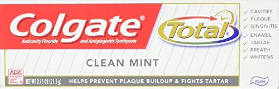 エレガント一般的な深めるColgate 総歯磨き、トラベルサイズ、0.75オンス