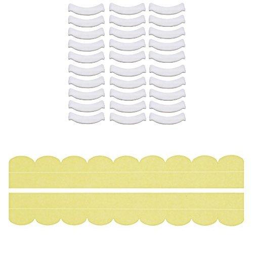 【セット買い】サンコー 汚れ防止 パット おしっこ吸うパット30コ入 + ズレない汚れ防止テープ おくだけ吸着 便器すきまテープ イエロー