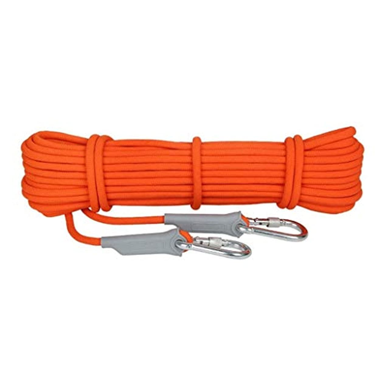 幻滅する現れるリー登山ロープの家の火の緊急脱出ロープ、ハイキングの洞窟探検のキャンプの救助調査および工学保護のための多機能のコードの安全ロープ。 (Color : 8.5mm, Size : 15m)