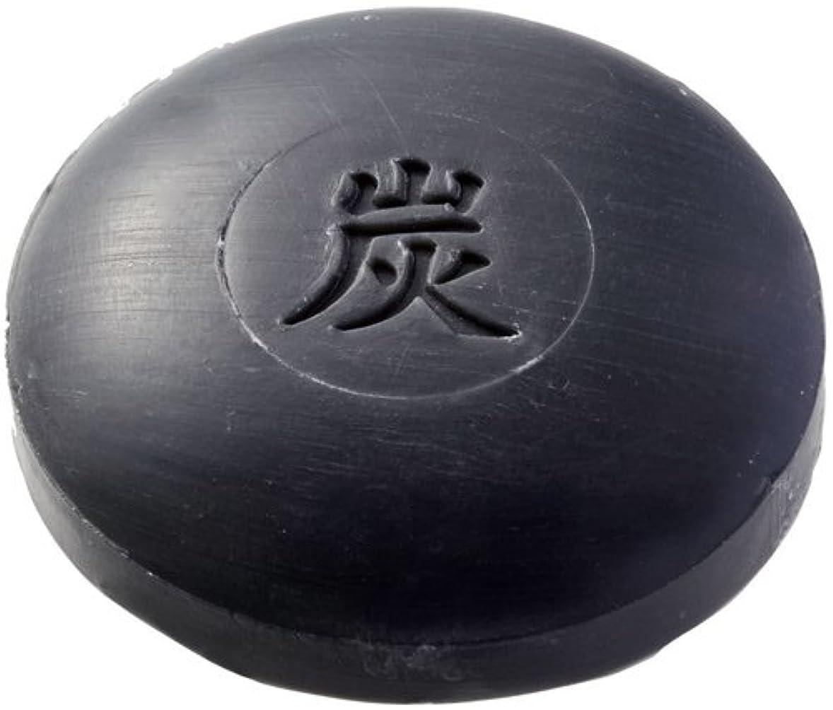 小麦粉伝記シルク和み庵 石けん(炭石けん) 30g×1個