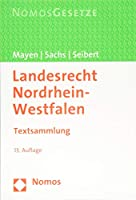Landesrecht Nordrhein-westfalen: Textsammlung