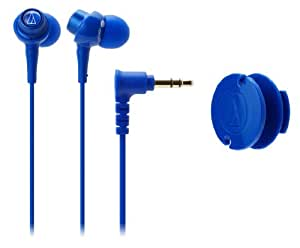audio-technica dip カナル型イヤホン ブルー ATH-CKL203 BL
