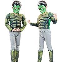 Jack Fashion Kids Superhero Muscle Suit,3D Quantum Battlesuit,Comfortable Breathable Unisex Cosplay Performance Clothes Costume for Theme Party & Anime Exhibition & Movie Premiere & Halloween & Christmas