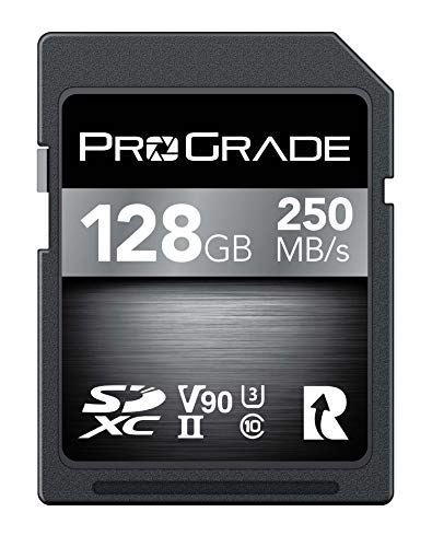 ProGrade Digital(プログレードデジタル) SDXC UHS-II V90メモリーカード 128GB