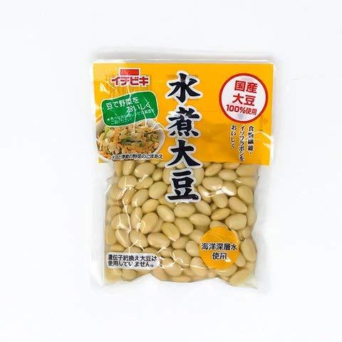 イチビキ 国産水煮大豆 155g 【冷凍・冷蔵】 1個