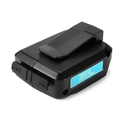 マキタ USB アダプター GLOSSE Li-ionバッテリー用 14-18V 互換バッテリー Makita ADP05
