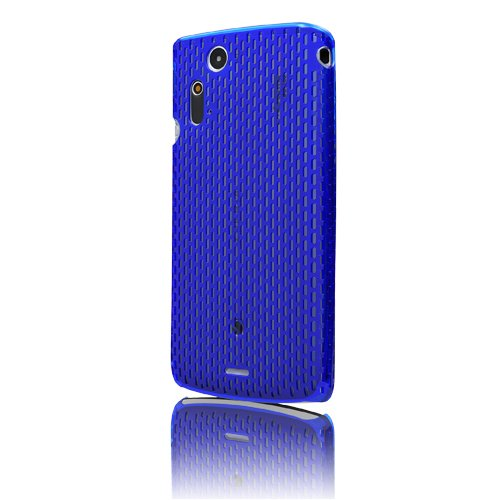 MSY Polyvalent Series Web Case Ice Ver. for Xperia acro Clear Blue/クリアブルー EPA03-004BL
