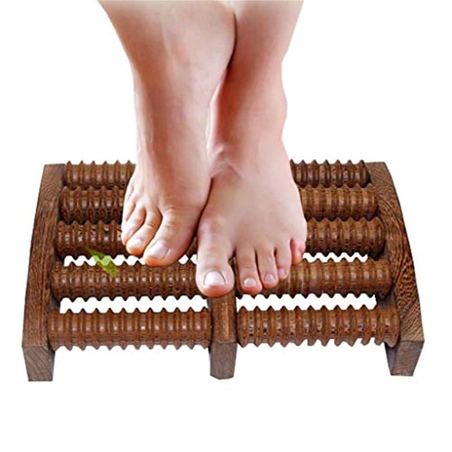 伝説受賞おんどり木製足裏マッサージローラーは、足底筋膜炎の治療のために圧力/かかととアーチの痛みを和らげ、筋肉と足のマッサージャーをリラックスさせます (Color : B)
