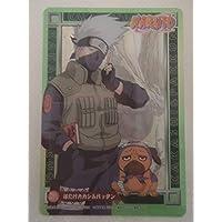 NARUTO ナルト カードゲーム クリアカード No.011 はたけカカシ&パックン