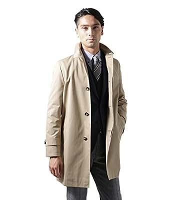 NEWYORKER(ニューヨーカー) スイスコットンギャバジン オーセンティックステンカラー コート ベージュ M