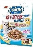コンボ キャット 猫下部尿路の健康維持 まぐろ味・減塩かつおぶし添え 600g(120g×5)