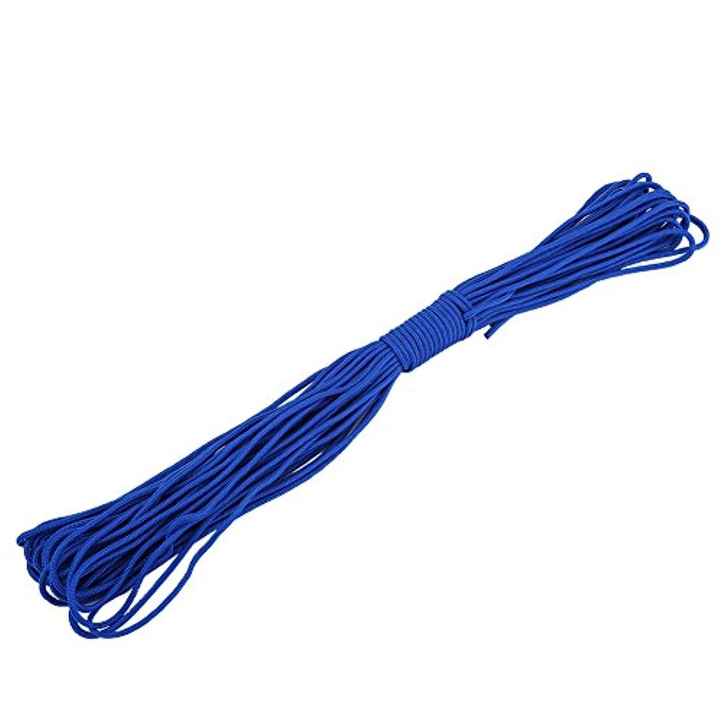 二十バウンス薬理学テント ロープ パラコード ガイロープ 直径2mm キャンプ サバイバル アウトドア