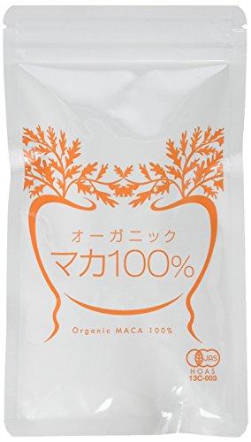 nichie オーガニック マカ 100% サプリメント 約2カ月分 約400粒