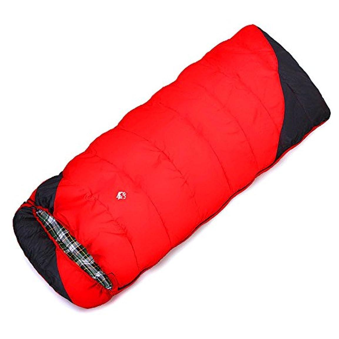 戦略顕著包囲Okiiting 高品質シングル寝袋テント寝袋通気性防水防湿連続断熱屋外キャンプに適しホーム うまく設計された