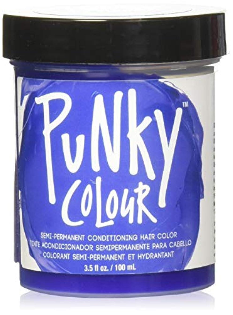 タンパク質ラグ棚JEROME RUSSELL Punky Color Semi-Permanent Conditioning Hair Color - Atlantic Blue (並行輸入品)