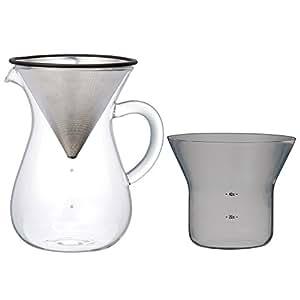 Amazon.co.jp : キントー コーヒーカラフェセット SCS-04-CC 600ml 27621 : ホーム&キッチン