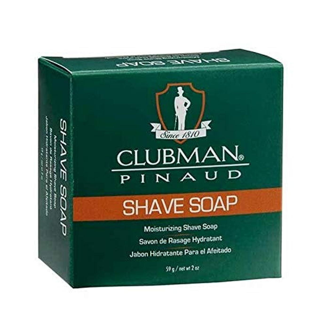 キャプションゲインセイスコア[Clubman ] クラブマン剃り石鹸 - Clubman Shave Soap [並行輸入品]