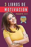 3 libros de MOTIVACIÓN  - Paquete 3 x 1: El Poder de la Perseverancia (Libros de emprendimiento y autoayuda)