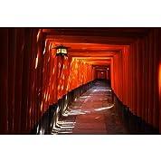 京都伏見稲荷の鳥居のポストカード photo by 宮西範直ポストカード-えはがき絵葉書