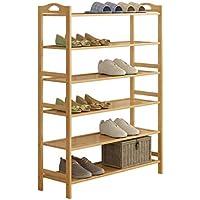 靴ラック6層多機能防塵家庭用靴キャビネット経済的な省スペース60センチメートル木製の靴のラック (サイズ さいず : 90cm)