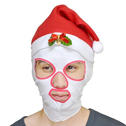 目出し帽 サンタマスク