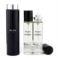 【トラベル スプレイ】 CHANEL BLEU DE CHANEL ブルー ドゥ シャネル トラベル スプレイ (20mL+リフィル 20mL×2)