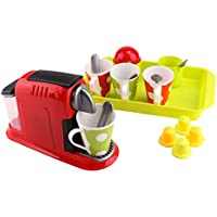 Fenteer 子供 調理器具 ゲーム コーヒーメーカー スプーン カップ 教育用おもちゃ 小道具