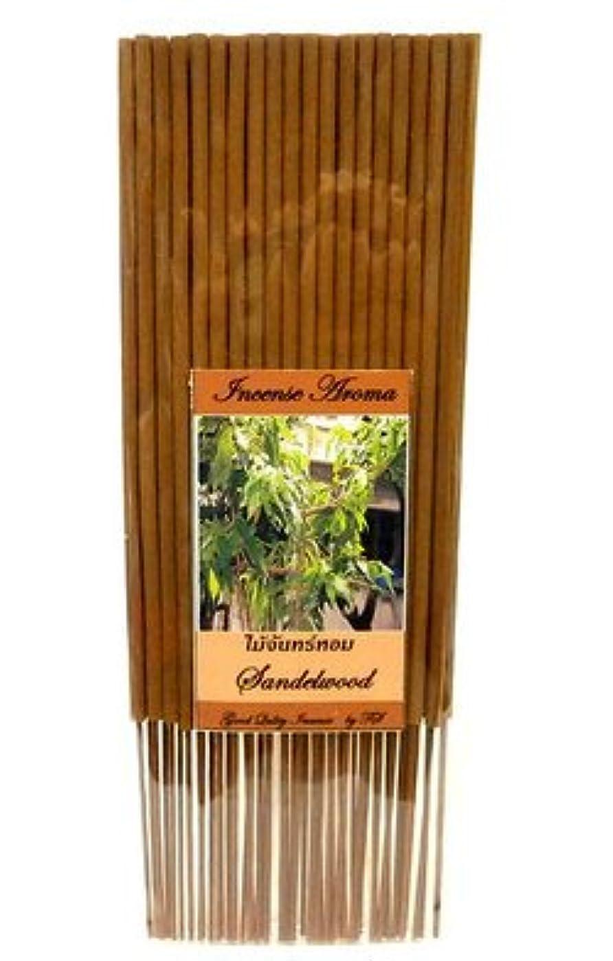 見ましたつづり肥料タイのお香 スティックタイプ [SANDALWOOD/サンダルウッド] インセンスアロマ 約50本入りアジアン雑貨