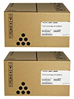 406683 Toner, Black, Sold as 2 Each by Ricoh