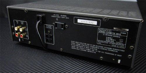KENWOOD ケンウッド K's X-1001 カセットデッキ