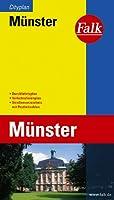 Falk Cityplan Muenster: Mit Durchfahrtsplan und Verkehrslinienplan. Strassenverzeichnis mit Postleitzahlen