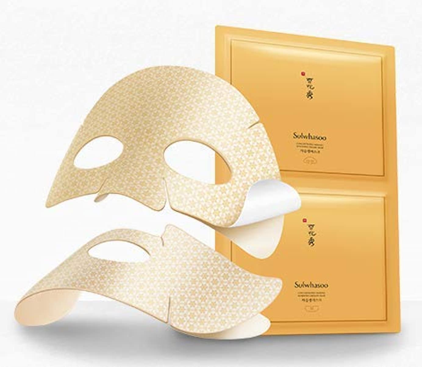 [Sulwhasoo] [Concentrated Ginseng Renewing Creamy Mask 18g*5ea] [並行輸入品]