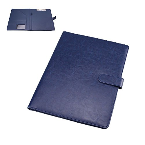 (pkpohs) クリップボード ファイルホルダー 見開き A4 書類ホルダー バインダー オフィス用品 (blue)