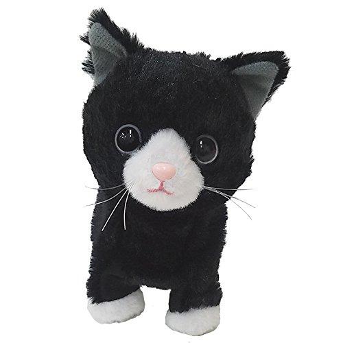 ウォーキングスイートキティ ハチワレ猫 ぬいぐるみ