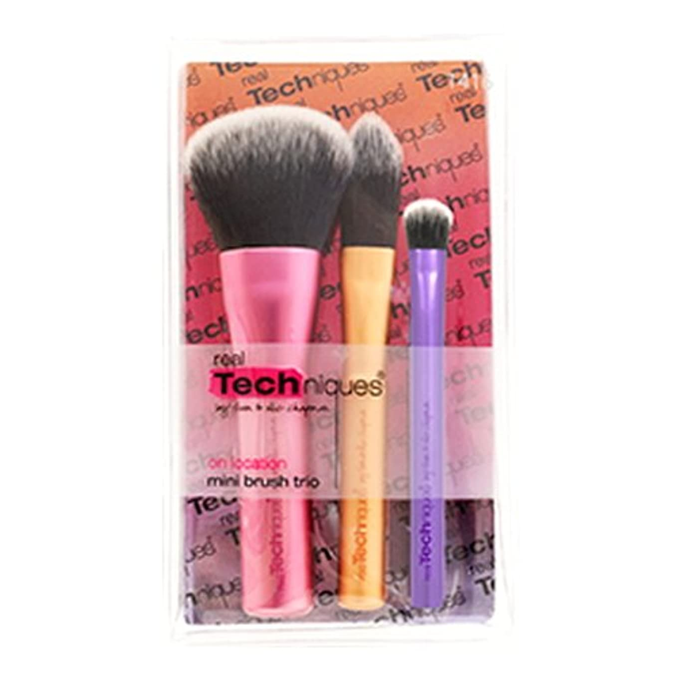経過本土序文Real Techniques Mini Brush Trio - Mini Brush Trio (並行輸入品)