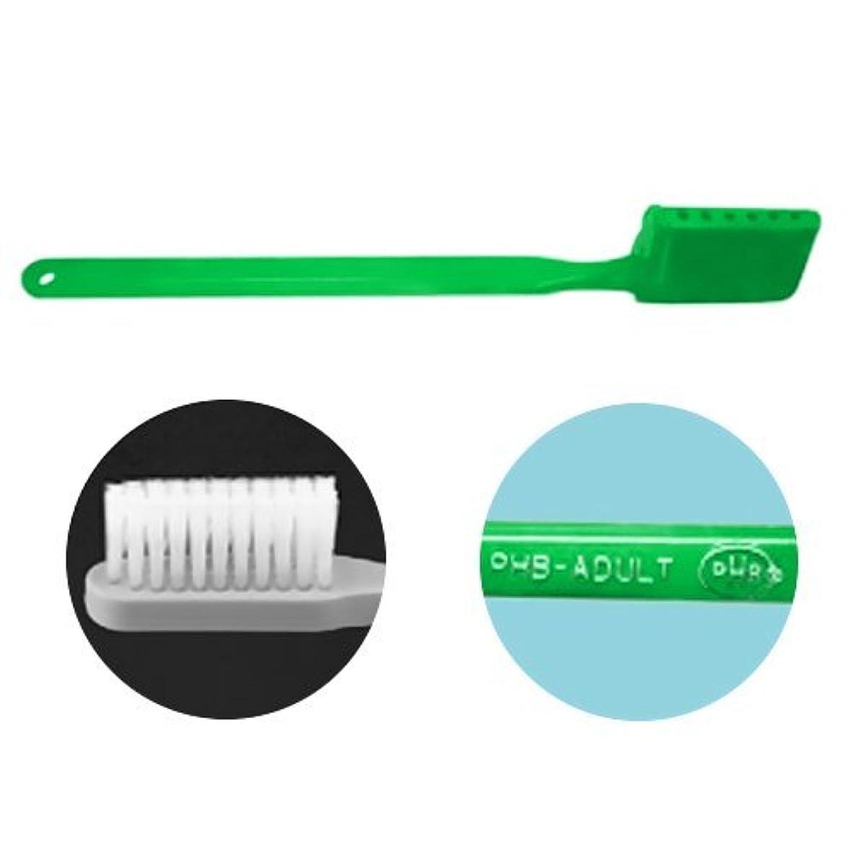 亜熱帯スピーカー考古学者PHB 歯ブラシ アダルトサイズ 1本 ネオングリーン
