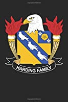 Harding: Harding Coat of Arms and Family Crest Notebook Journal (6 x 9 - 100 pages)