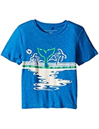 [ステラマッカートニー] Stella McCartney Kids ボーイズ Arrow Beach Whale Lightweight Tee (Toddler/Little Kids/Big Kids) トップス...