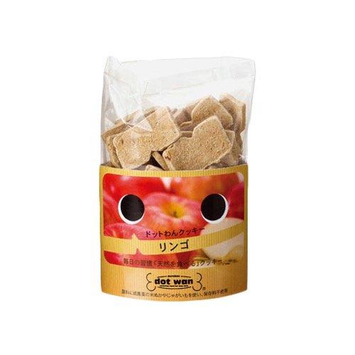 ドットわんフルーツクッキー リンゴ 65g