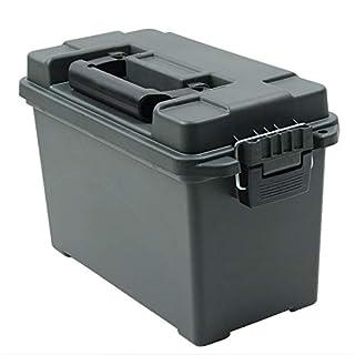 AMMO TOOL BOX アンモボックス(弾薬入れ)ツールボックス ズ 樹脂製 (ブラック) [220 mmx350 mmx182 mm]