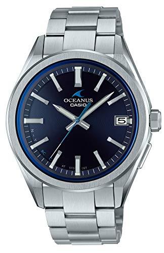 [カシオ]CASIO 腕時計 オシアナス CLASSIC LINE Bluetooth 搭載 電波ソーラー OCW-T200S-1AJF メンズ