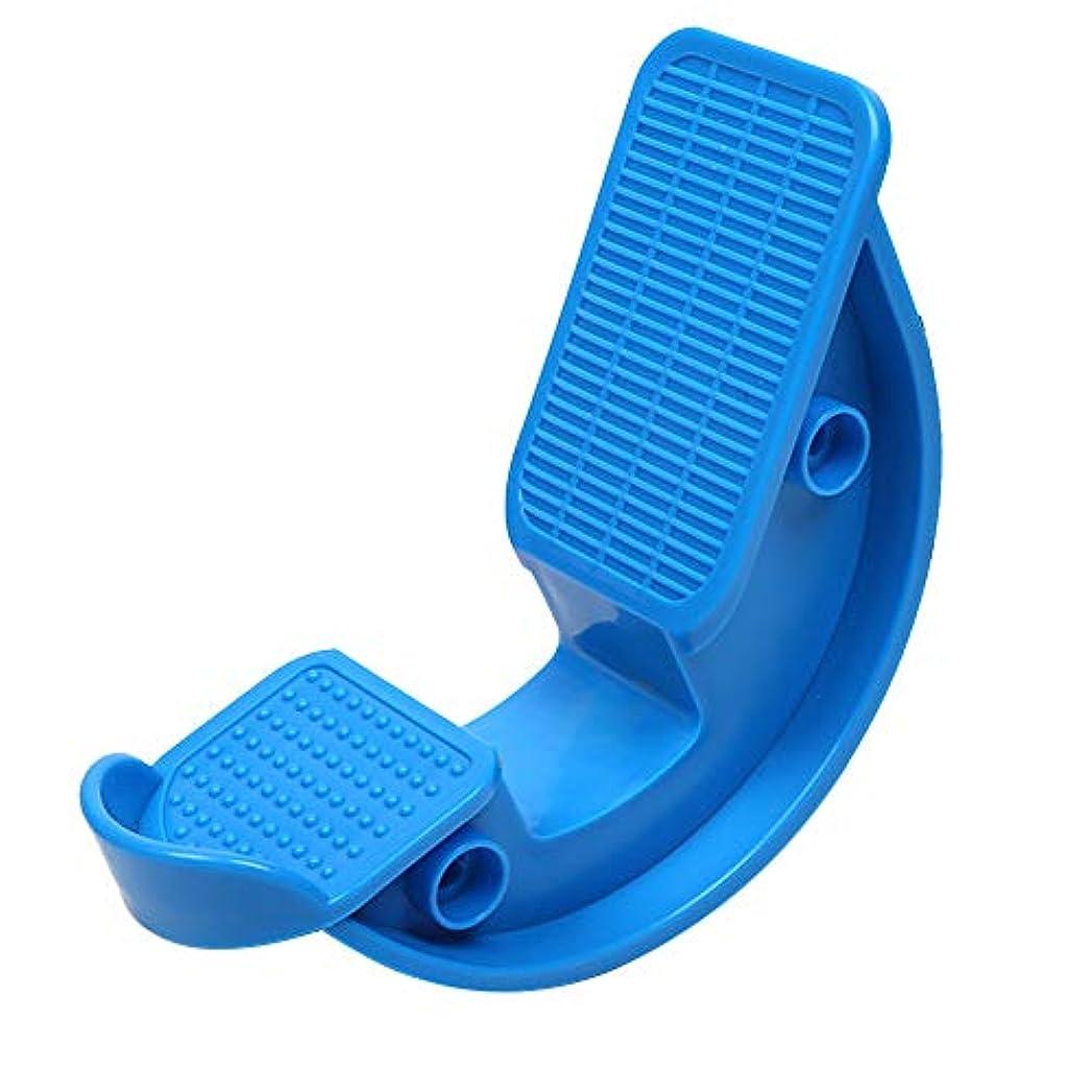 クレーターもっともらしい走るふくらはぎストレッチャー筋膜炎腱炎アスリートホームヨガフィットネス足底マッサージツールフットロッカークラス痛みを和らげるオフィスランナー(赤)