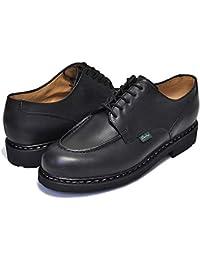 [パラブーツ] シャンボード CHAMBORD/TEX made in France NOIRE-LIS NOIR ノアール ブラック メンズ Uチップモカ レザーカジュアル ブーツ [並行輸入品]