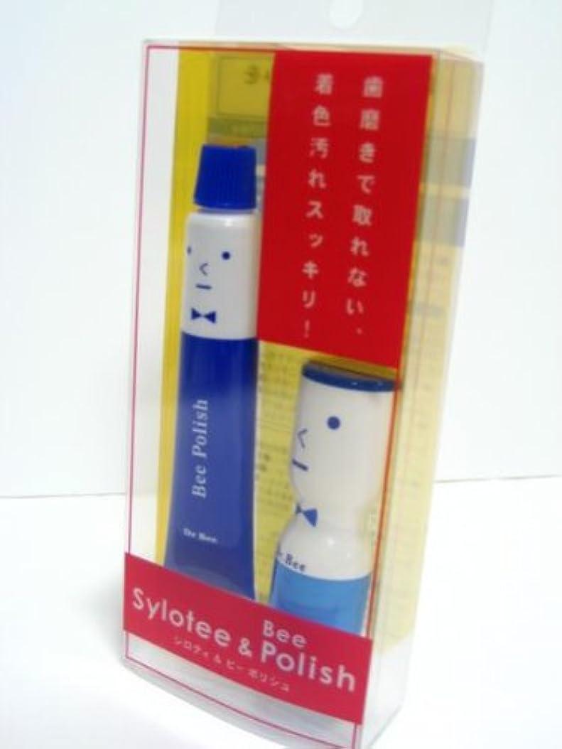 ステンレスパターン絶壁歯磨きでとれない 着色汚れもスッキリ!!シロティ&ビーポリシュ