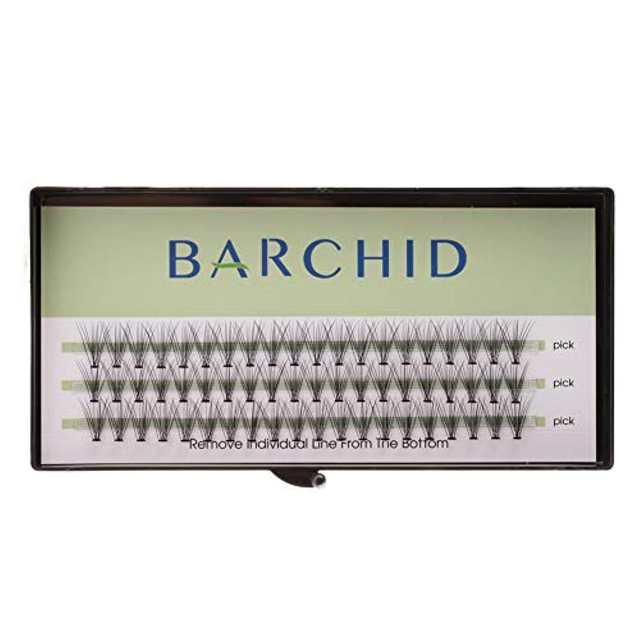 リビジョンつまらない疫病BARCHID 高品質超極細まつげエクステ太さ0.07mm 10本束10mm Cカール フレア セルフ用 素材  マツエク